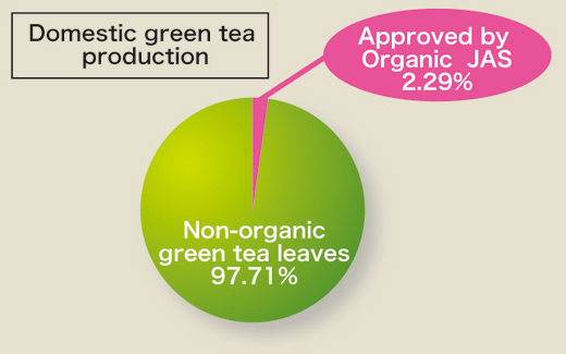 Domestic green tea produstion